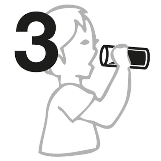 Manuel n° 3 pour Verres à eau